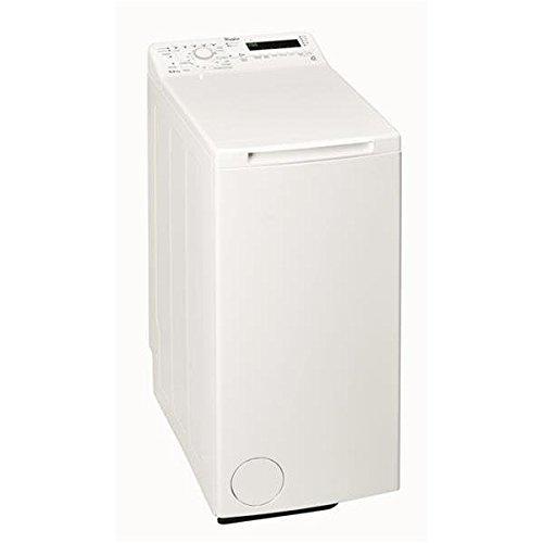 Whirlpool TDLR65211 Autonome Charge supérieure 6.5kg 1200tr/min A+++ Blanc machine à laver - Machines à laver (Autonome, Charge supérieure, Blanc, Haut, Acier inoxydable, 42 L)