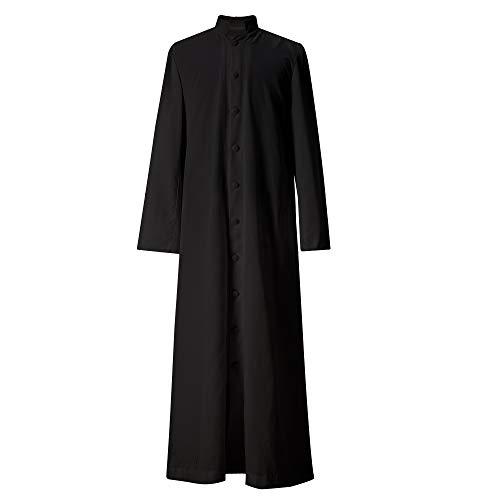 GGS Priester Talar für Klerus Kanzel Roman Soutane -