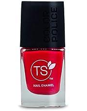 TS Color Police Nail Enamel - Pouty Pink(9ml)(Pouty Pink)