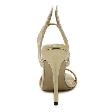 LFNLYX Donna tacchi Primavera / Estate / Autunno / Inverno Gladiator / Comfort / Novità Nozze in similpelle / Party & sera abito / / Casual Silver