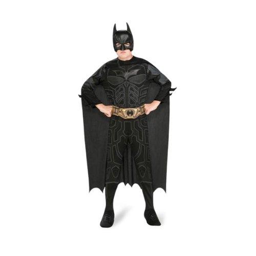 Batman The Dark Knight Rises - Kinderkostüm 4-tlg Comic-Helden Kostüm Set - L