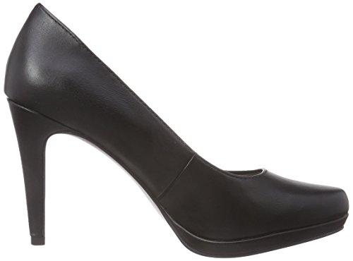 Tamaris  22448, Chaussures à talons - Avant du pieds couvert femmes Noir - Schwarz (Black Matt 020)