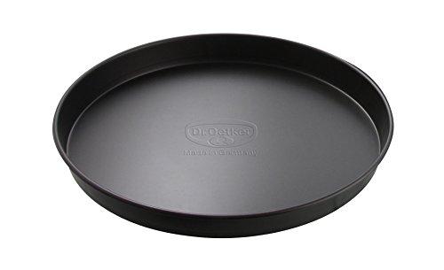 Dr. Oetker Pizza- & Kuchenblech Ø 20 cm, Backblech für saftigen Kuchen & knusprige Pizza, Kuchenform aus Stahl mit Antihaftbeschichtung, Menge: 1 Stück