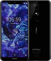 Nokia 5.1 Plus (Black, 64 GB) (4 GB RAM) (Black, 5.8 INCH)