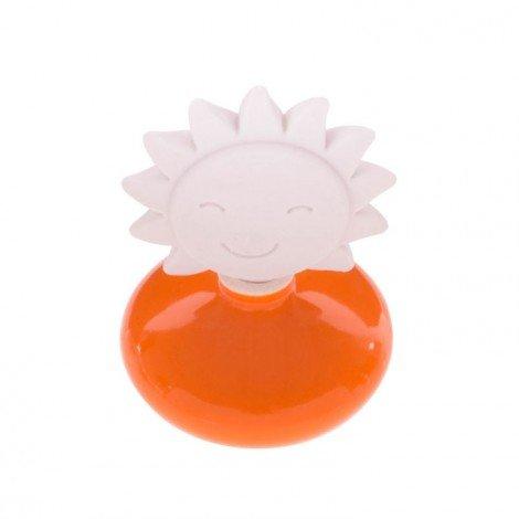 Millefiori milano lovely sole arancione + ricarica 50 ml profumatore ambiente bomboniere diffusore tappo gesso (fragranza non ti scordar di me)