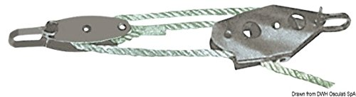 Osculati 56.314.10 - Niederholer Niro 5/7mm