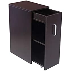 ZXPzZ Petite bibliothèque Moderne Simple avec Porte, bibliothèque Simple, Meuble de Rangement, casier à Balcon, Petit casier pour Appartement - Table de Nuit Living (Une variété de Styles)