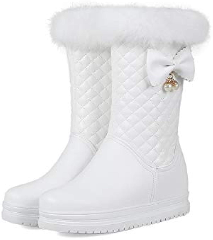Stivali da Neve Caldi a Tacco Alto con Tacco Tacco Tacco Piatto da Donna | modello di moda  | Maschio/Ragazze Scarpa  cbffdb