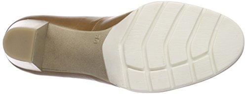 Marco Tozzi Premio 22419, Chaussures à talons - Avant du pieds couvert femme Marron - Braun (NUT ANTIC 444)