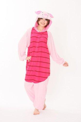 Piglet Adult Men Women Unisex Animal Sleepsuit Kigurumi Cosplay Costume  Pajamas Outfit Nonopnd Nightclothes Onesies Halloween Cheap Costume Clothing 3f31a2f84