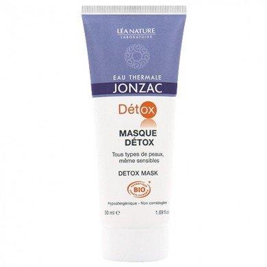 EAU THERMALE JONZAC - Masque Detox Chrono - Actif oxygénant d'Angélique breveté - Toutes peaux, même sensibles - Hypoallergénique - Non comédogène - 50 ml