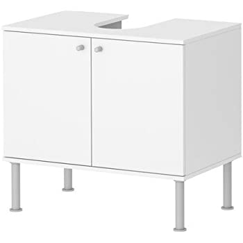 Vcm 50420 Waschtischunterschrank Wascho Weiss Amazon De Kuche
