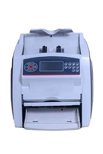 ZEXA Note Counting Machine Compatible with Old & New INR- 10, 20, 50,100,200, 500 & 2000 Notes Counting Machine with Fake Note Detector