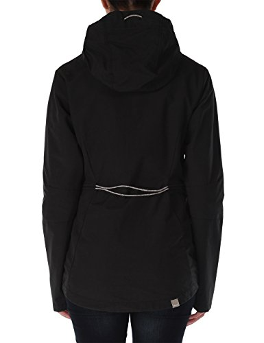 Bench Damen Jacke Kapuzenjacke Juncture Jet Black