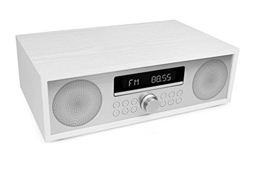 AudioAffairs CD-Mikroanlage/MP3-Audio Stereoanlage mit Bluetooth 3.0, PLL UKW-Radio mit RDS, USB & AUX-IN & Fernbedienung - Nur erhältlich auf Amazon.de