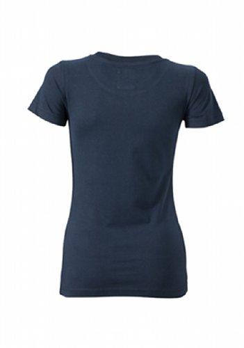 James & Nicholson T-shirt vintage pour femme Bleu (navy)