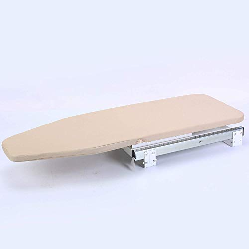 Ybaymy asse da stiro con copertura imbottitura, ruotabile scalabile pieghevole da stiro-81x 30cm/81,3x 30,5cm
