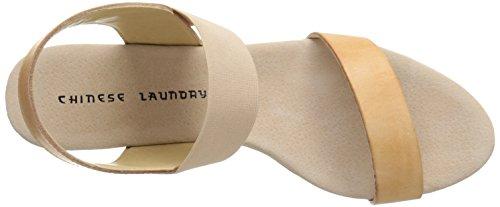 Chinese Laundry Gabby Synthétique Sandales Compensés Noisette
