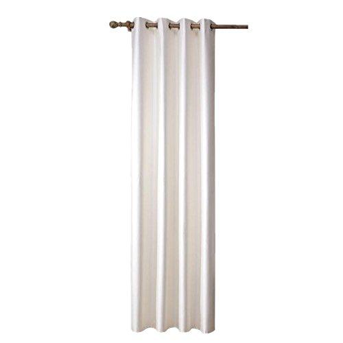 Preisvergleich Produktbild Hochwertige Blackout Vorhänge für Wohnzimmer Fenster Screening Ösen Sheer Voile Vorhang (132,1x 160cm)-1Stück, 1* (142,2x 162,6cm)