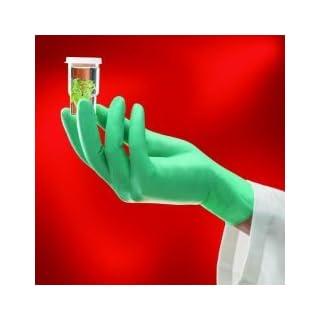 neoTouch, Größe M (7,5–8) Einweg Handschuhe, Neopren-, puderfrei, hellgrün, 100Stück Ansell Healthcare 25–101/M
