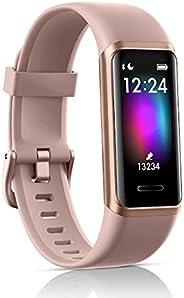 LATEC Fitness Tracker, Smartwatch Orologio con Alexa Integrato Impermeabile 5 ATM di Sportivo Calorie, Monitor