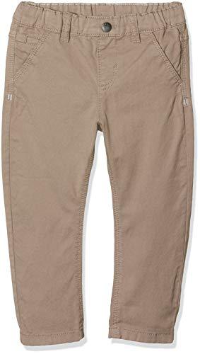 s.Oliver Baby-Jungen 59.902.73.2048 Hose, Braun (Light Brown 8516), Herstellergröße: 74/REG - Braun Twill-hose