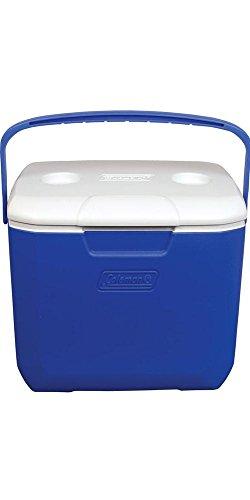 Coleman Ausflug autonome 51Can (S) blau, Farbe Weiß-Kühler Getränk-Weinflaschenkühlmanschette Getränken (autonome, blau, weiß, oben, 51Can (S), 28l)