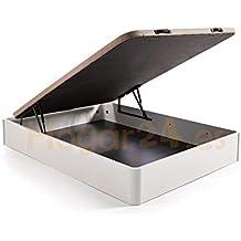 Canapé abatible Madera Gran Capacidad con Tapa 3D y válvulas de transpiración