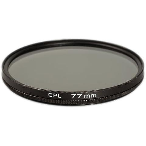 Ares fotográfico CPL filtro polarizador para 77mm Rosca de filtro Filtro Polarizador para Tamron SP AF 10–24mm f/3.5–4.5Di II LD Aspherical