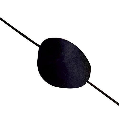 Widmann 821.5283 - Piraten Augenklappe, schwarz (Schwarze Piraten Augenklappe)