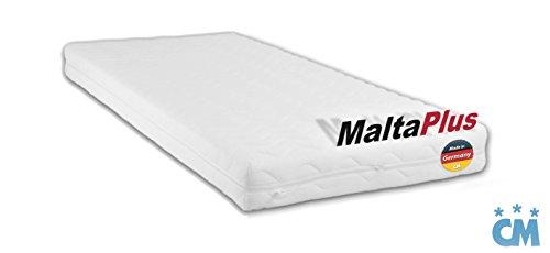 *Charlottes Möbelkaufhaus Kindermatratze 120×200 cm Malta Plus. Hochwertige Kaltschaum Matratze. Qualitätsschaum mit Öko-Tex Zertifikat. (Härtegrad H2, 120 x 200 cm)*