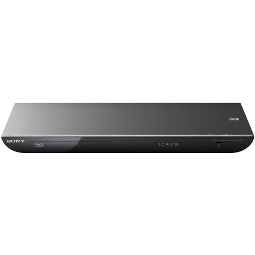 Sony BDP-S490 3D-Blu-ray Player (2D/3D, HDMI, Upscaler 1080p, iPhone/Android-steuerbar, DLNA) schwarz (Blu-ray-player Iphone)