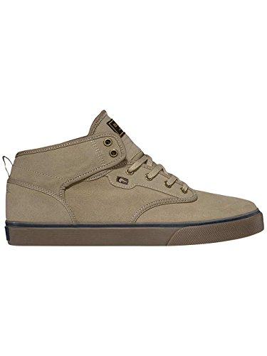 Globe Motley Mid, Chaussures de Skateboard homme Marron - couleur sable/bleu marine/marron