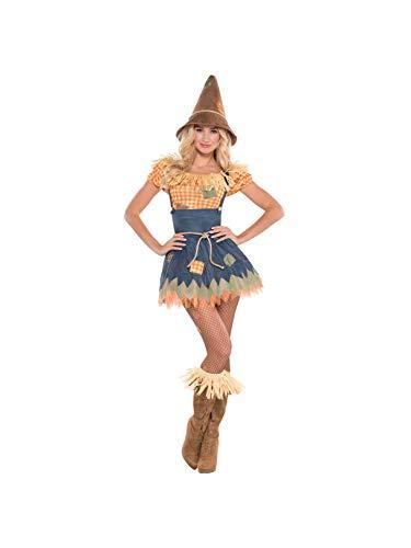 Zauberer von Oz-Vogelscheuche- Kostüm Damen - Grösse ()