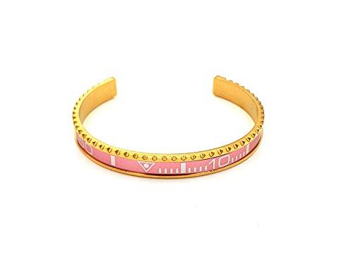 Cronometro d' oro rosa lunetta Submariner GMT Bracelet Bangle Braccialetto Purple