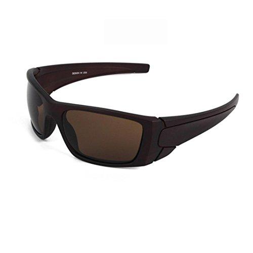 sunshineBoby Herren Sonnenbrillen Radfahren Fahren Reiten Schutzbrille Outdoor Sports Eyewear--Damen und Herren Polarisierte Medium / groß ÜBERBRILLE Das Fit über Brillen. Sonnenüberbrille für Fahrrad (Mehrfarbig B)