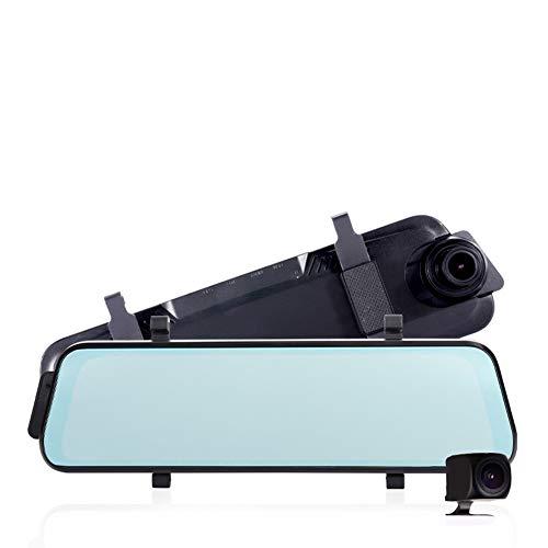 10' Dual-link (Kamera 1080P Auto DVR Dual Objektiv Dash Cam 10'' IPS Touchscreen Rückspiegel Fahren Aufnahme Nachtsicht Bewegungserkennung)