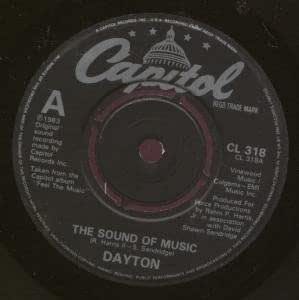 "SOUND OF MUSIC 7 INCH (7"" 45) UK CAPITOL 1983 (Katalog-Nummer: CL318)"