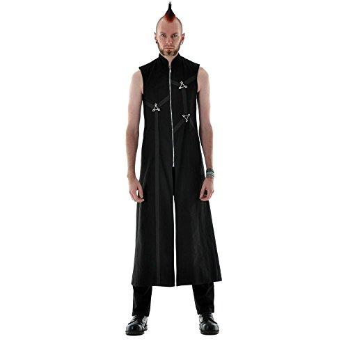 Gothic Mantel Tritium Größe (Biohazard Tasche Kostüm)