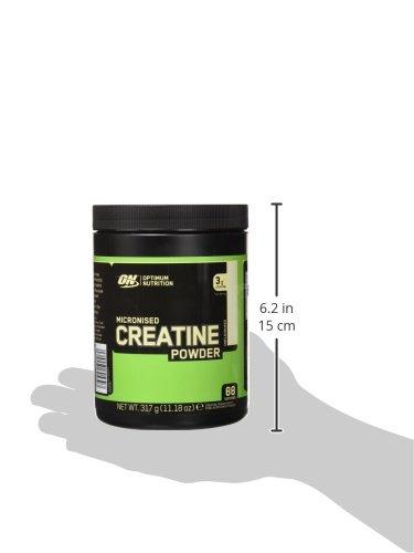 Optimum Nutrition Creatine, sin Sabor - 317 g