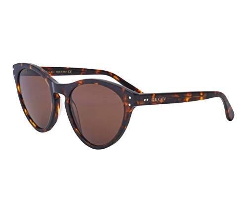 Gucci GG-0569-S 002 Havana - Gafas de sol, color gris y marrón