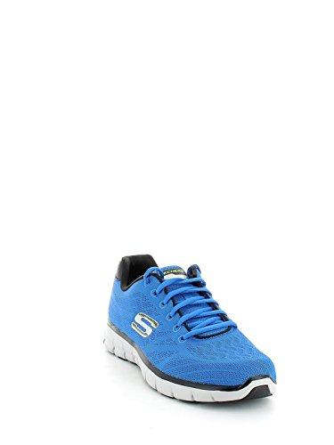 Skechers Synergy-Fine-Tune Hombre US 10 Negro Zapato para Correr