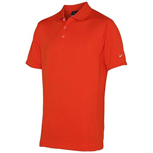 Nike Herren Polo-Shirt Dry fit Sports, Kurzarm (Medium) (Team Orange) Herren Nike Shirts Medium