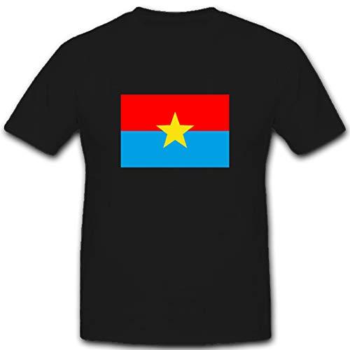 MACV - SOG Military Assistance Command Vietnam - Studies and Observation Group Wappen Abzeichen Vietnam Vietkong Charlie - T Shirt #1671, Farbe:Schwarz, Größe:Herren XL