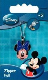 Disney PRYM Minnie Maus Kopf Fashion Reißverschluss Abzieher (Minnie Maus Kopf)