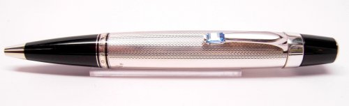 MontBlanc Boheme Silber Bleu Kugelschreiber 06571