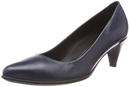 ECCO Damen Ecco Shape 45 Pointy Sleek Pumps, Blau (Navy 01159), 39 EU Pointy Pumps