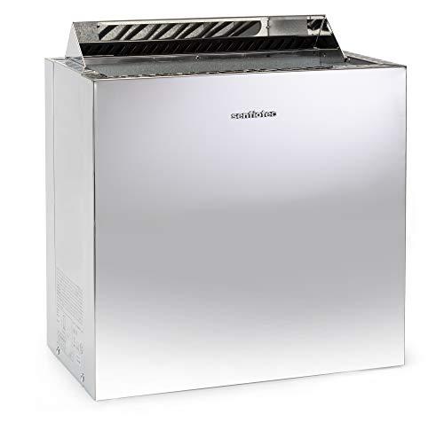 Sentiotec Nordex Style Saunaofen 6/8/9 kW mit Wandbefestigung (9 kW)