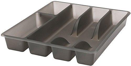 Tray Utensil (Ikea Besteckaufbewahrung mit 5Fächern aus Kunststoff Besteckkasten