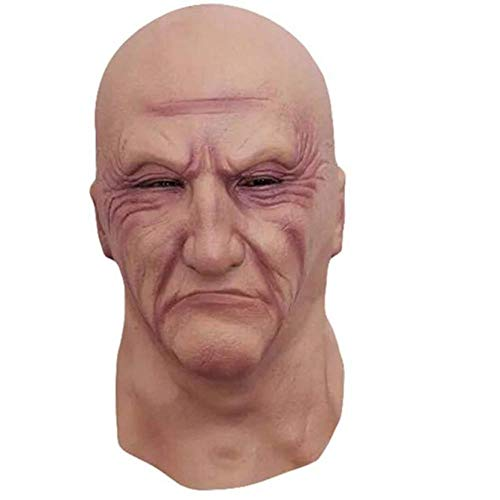 Kostüm Gruselig Narr - YAX Masken 1 Stücke Halloween Kostüm Gesichtsmaske Phantasie Blutigen Kleid Gruselig Halloween Maske Ostern Narren Tag Lustige Maske Mask (Mask 复制) 复制 <Br/>F